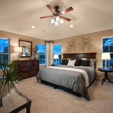 Transitional Bedroom by W.B. Homes, Inc.