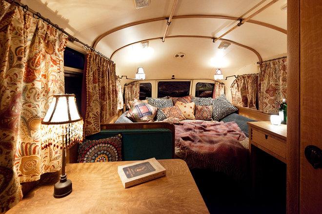Eclectic Bedroom by Winkelman Architecture