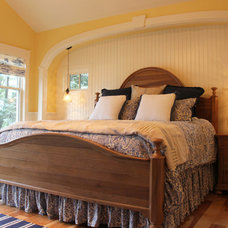 Farmhouse Bedroom by Thelen Total Construction