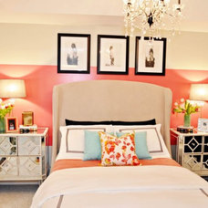 Contemporary Bedroom by Nicole White Designs Inc
