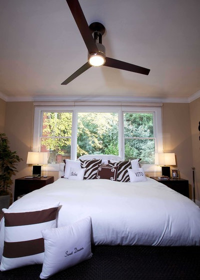 In the Rotation: Ceiling Fans Go Chic