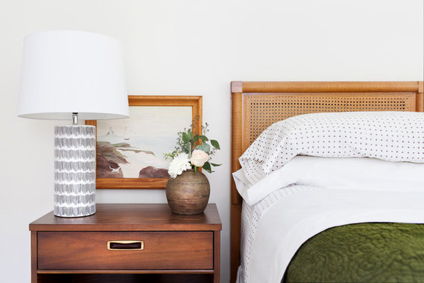 Midcentury Bedroom by Tchotchkes Design Studio LLC