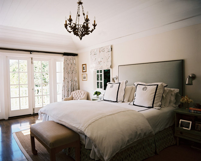 eclectic bedroom by Hillary Thomas Designs