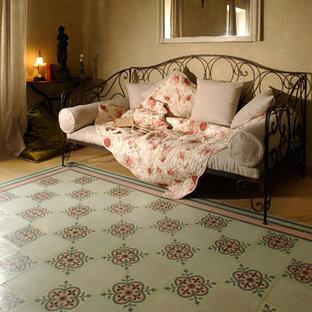 Bedroom - mediterranean bedroom idea in Other