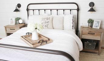 Vintage White Farmhouse Master Bedroom
