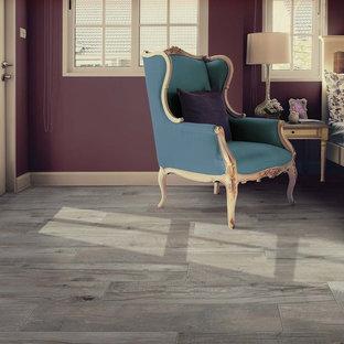Vintage Wood Look Porcelain Floor Tile
