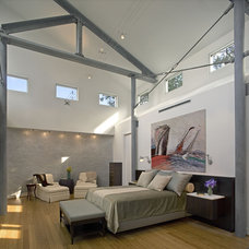Contemporary Bedroom by Dovetail Builders Inc.