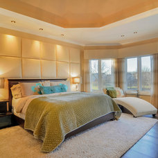 Transitional Bedroom by Sebring Services