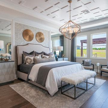 Vistas at Water's Edge - Brookhaven Model Transitional Master Bedroom