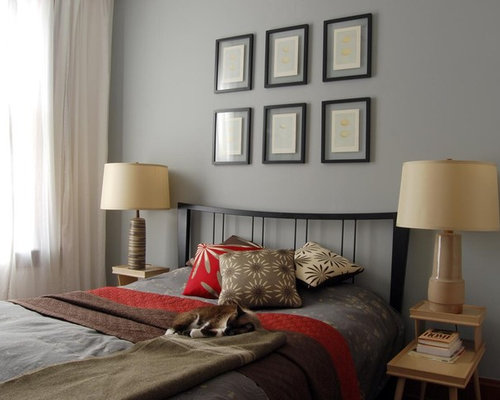 Grey Brown And Red | Houzz
