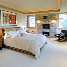 Contemporary Bedroom by Blue Hot Design