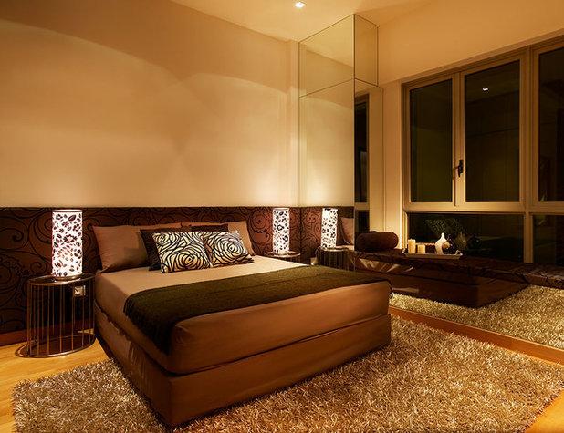 Contemporary Bedroom by Abhyantara Designs