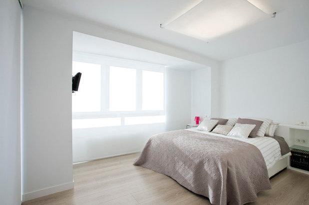 C mo iluminar un dormitorio claves para crear la luz - Iluminacion habitacion matrimonio ...
