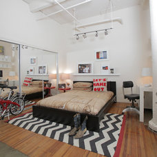 Eclectic Bedroom by Valerie McCaskill Dickman