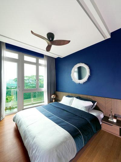 Contemporary Bedroom by DISTINCTidENTITY Pte Ltd