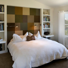 Contemporary Bedroom by Gina Roberts-Wagner