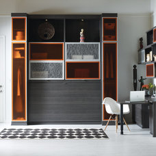 Modern Beds by California Closets Vancouver