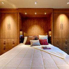 Contemporary Bedroom by Hanson Carlen