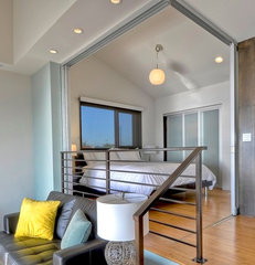 contemporary bedroom by The Sliding Door Company Vancouver