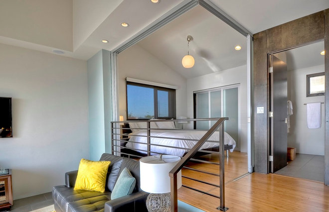 Contemporary Bedroom by The Sliding Door Company Canada
