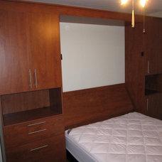 Contemporary Bedroom Wallbeds I've Designed