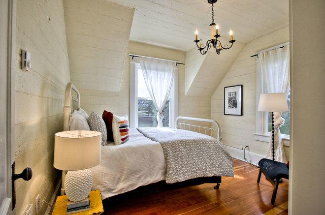 Farmhouse Bedroom by Mathews+Williams