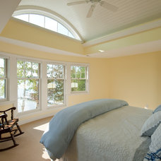 Traditional Bedroom by Shoreline Architecture & Design