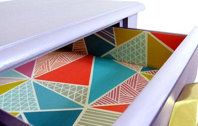 11 jolies façons de recycler des chutes de papier peint