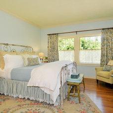 Farmhouse Bedroom by Adeeni Design Group