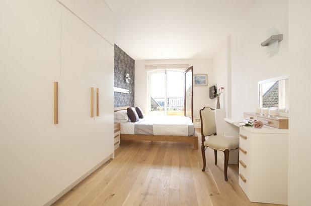 дизайн узкой спальни 16 фото варианты интерьера узкой спальни