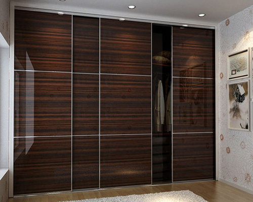Wardrobe door design houzz for Door design houzz