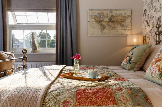 Transitional Bedroom by Jenny Ballantyne Interiors