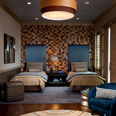 Transitional Bedroom by Dallas Design Group, Interiors