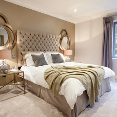 Contemporary Bedroom by Woadden Nash Interiors.