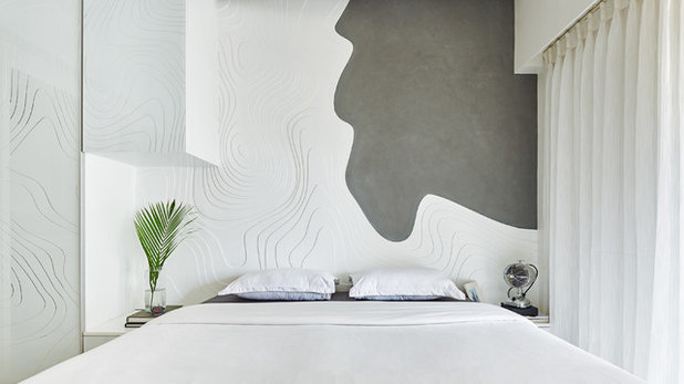 Contemporary Bedroom by ZERO9