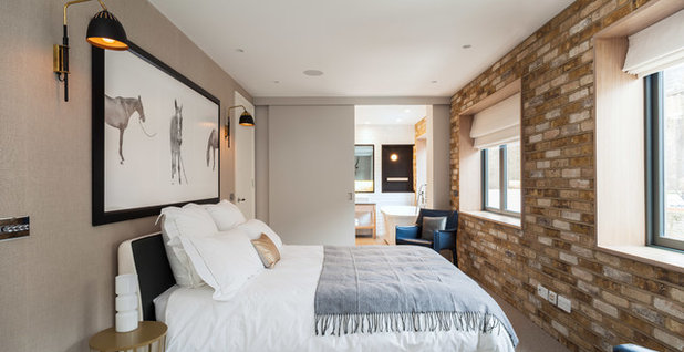 Contemporary Bedroom by David Butler  Photography