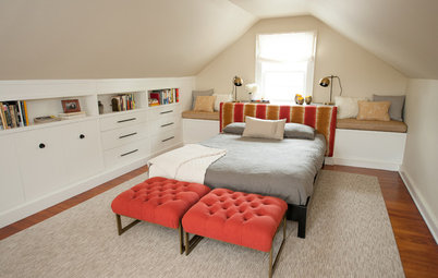 Room of the Day: Cramped Attic Becomes a Grown-Up Retreat