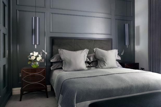 コンテンポラリー 寝室 by Alexandra Dixon Interiors
