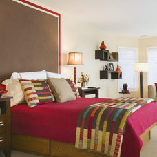 eclectic bedroom by Lanny Nagler Photography
