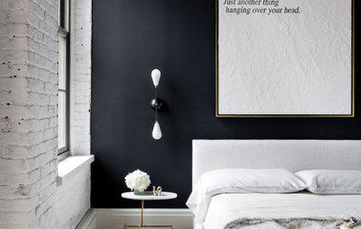 10 soveværelser med sorte vægge – overraskende hyggeligt!