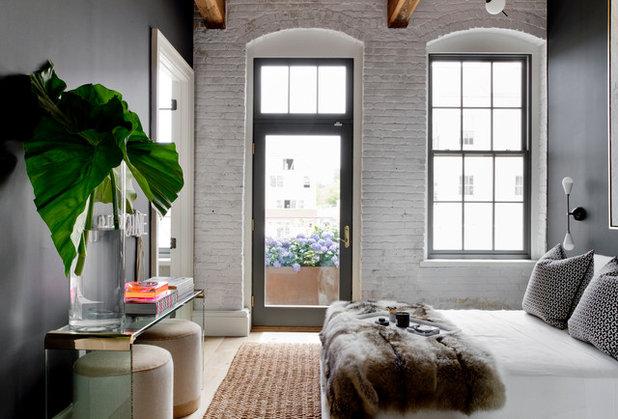Industrial Bedroom by Tamara Magel Studio