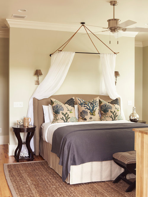 Beach house project for Tropical canopy bed