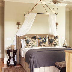 tropical bedroom by Interior Philosophy
