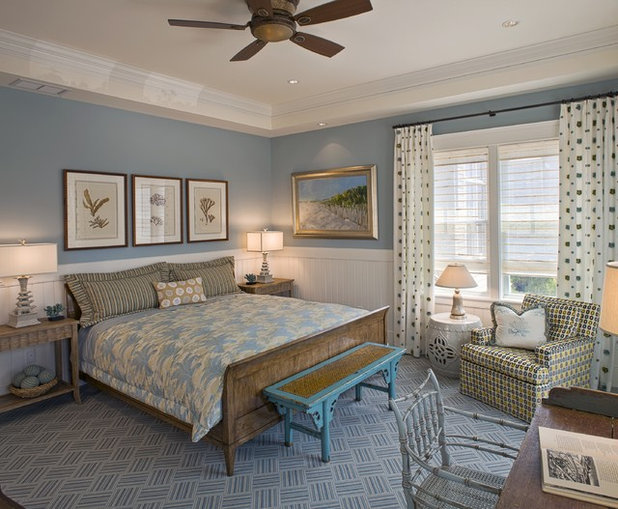 Beach Style Bedroom by Bruce Palmer Interior Design. Bedroom Color  The Secret to More Sex and More Sleep