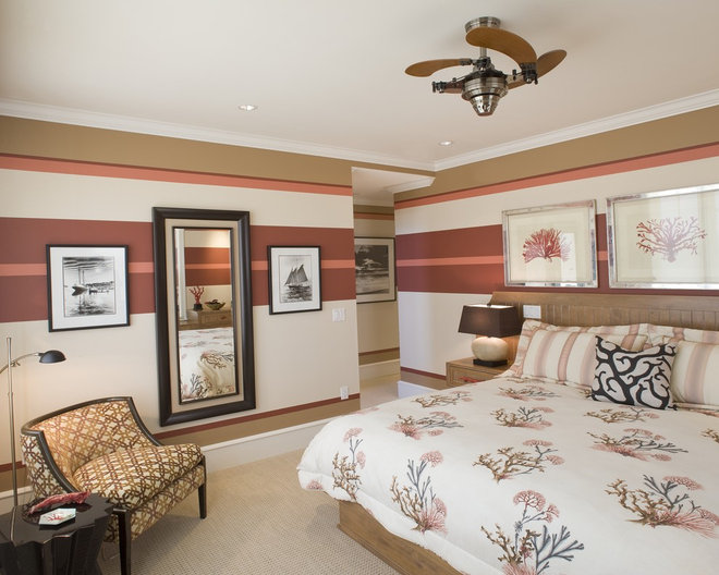 Beach Style Bedroom by Bruce Palmer Interior Design