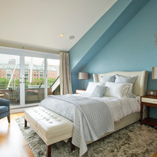 Transitional Bedroom by CL Waterfront Properties, LLC