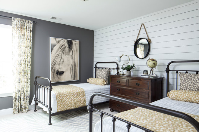 Farmhouse Bedroom by Crescent Homes