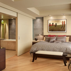 Contemporary Bedroom by Tyler Engle Architects PS