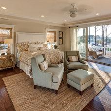 Beach Style Bedroom by Evergreene Homes