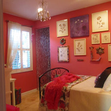 Eclectic Bedroom Watermelon Room
